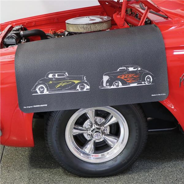 Hot Rods Version 1 Fender Protective Cover