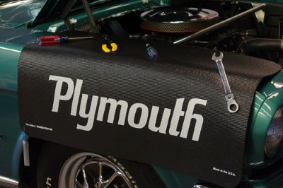 Plymouth Logo Fender Protective Cover