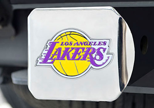 FanMats NBA Team Color Filled Hitch Cover