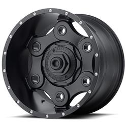 "MO977 Matte Black Link Wheel 20""x9"" 94-18 Dodge Ram 1500"