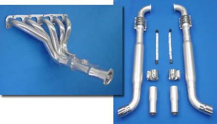 Belanger Complete Exhaust System without Cats 03-06 Viper SRT-10