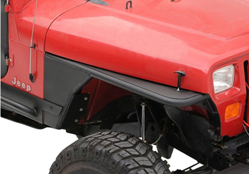 Smittybilt 4pc Flat Fender Body Kit 86-96 Jeep Wrangler YJ