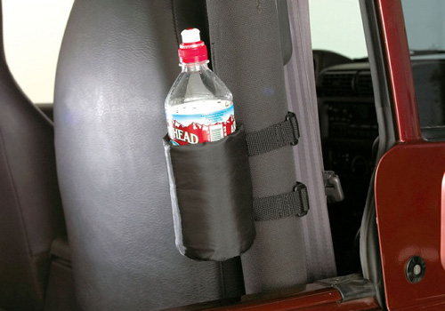 Rampage Jeep Wrangler Roll Bar Drink Holders