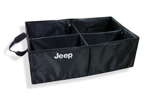 Mopar OEM Collapsible Cargo Tote with Jeep Logo