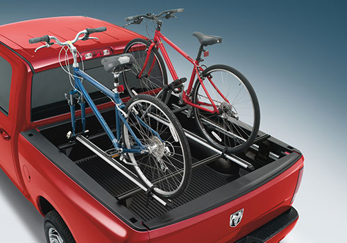 Mopar OEM Upright Style Thule Roof-Mount Bike Rack Carrier